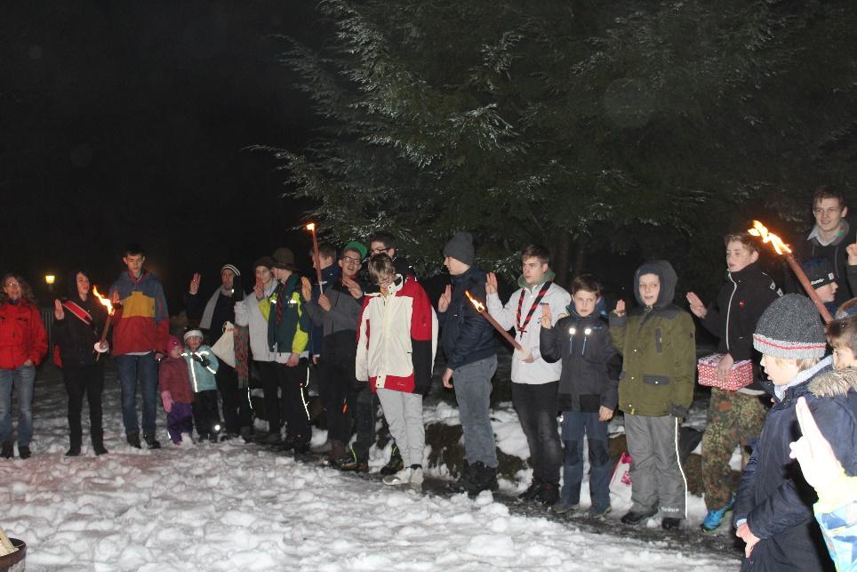 Weihnachtsfeier Im Januar.Eine Weihnachtsfeier Wie Keine Andere Bps Pfadfinder Breitscheid
